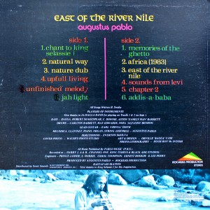 AUGUSTUS PABLO:EAST OF THE RIVER NILE