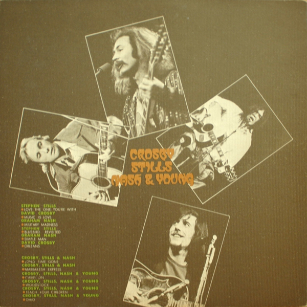 Crosby Stills Nash Woodstock 1971: CROSBY, STILLS, NASH & YOUNG:ALL TOGETHER