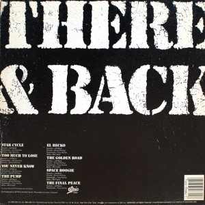 JEFF BECK:THERE AND BACK