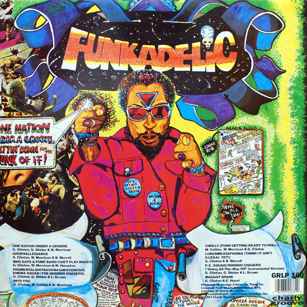 Funkadelic - Cholly (Funk Getting Ready To Roll!) / Into You