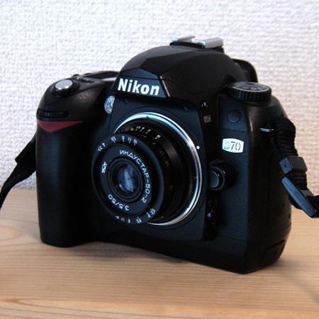 INDUSTAR 50mmF3.5 (M42)_D70