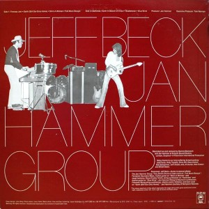 JEFF BECK LIVE WITH THE JAN HAMMER GROUP