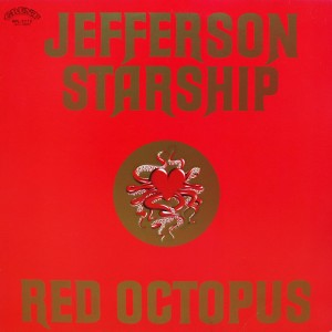 JEFFERSON STARSHIP RED OCTOPUS