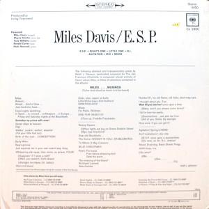 MILES DAVIS:E.S.P