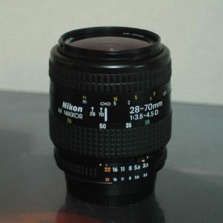 NIKONAF NIKKOR 28-70mm 13.5-4.5D