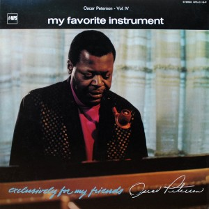 OSCAR PETERSON OSCAR PETERSON   vol.IV MY FAVORITE INSTRUMENT