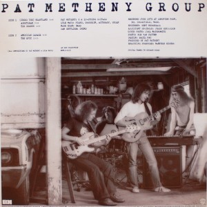 PAT METHENY GROUP:AMERICAN GARAGE