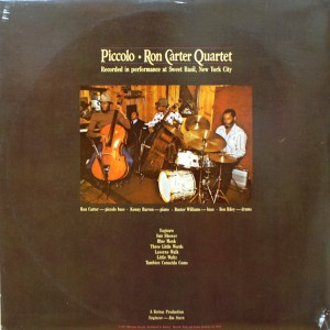 RON CARTER QUARTET:PICCOLO